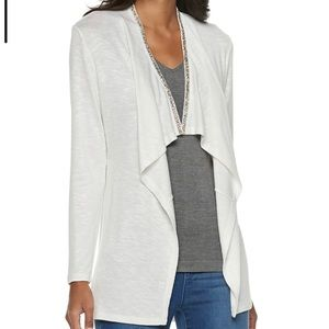 Juicy Couture Embellished Open-Front Cardigan
